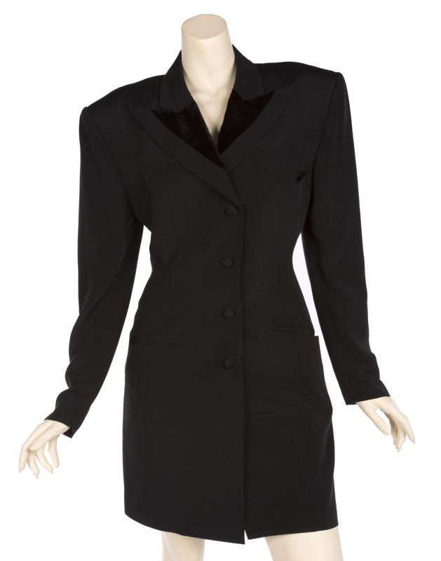 Coat worn by Janet Jackson during the Rhythm Nation World Tour. Photo by Julien's Auctions.