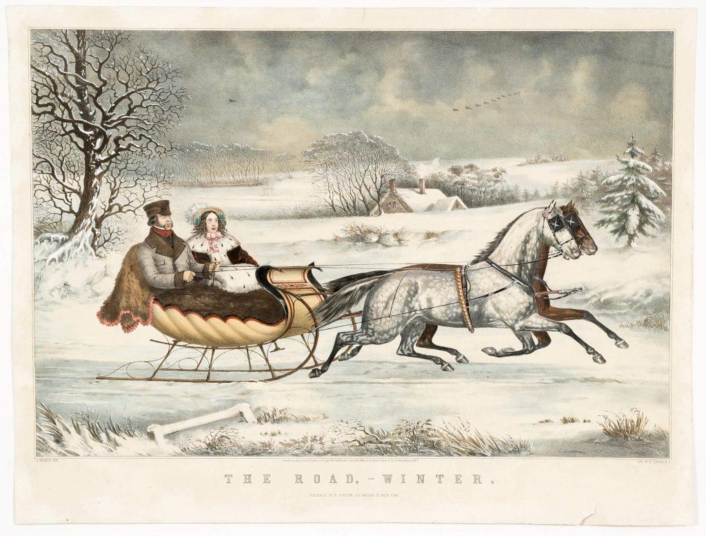 N. Currier, The Road Winter, estimate: $12,000-15,000