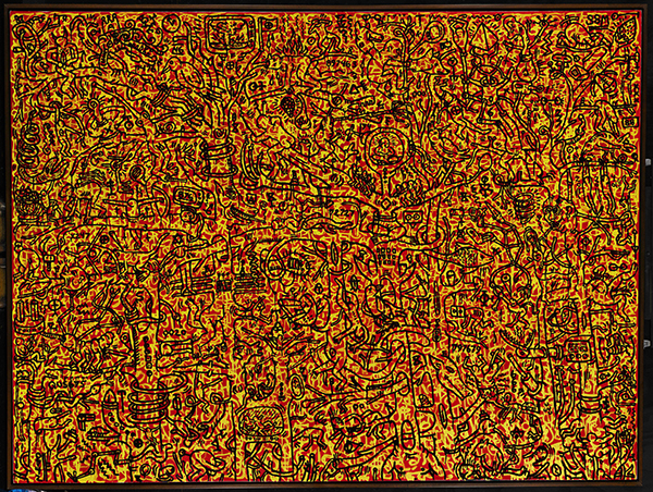 Keith Haring, The Last Rainforest, 1982. Image from Sotheby's.