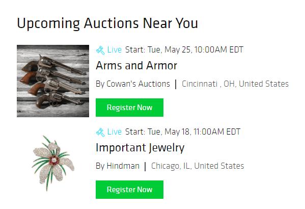 Bidsquare Announces New Auctions Near Me Website Feature