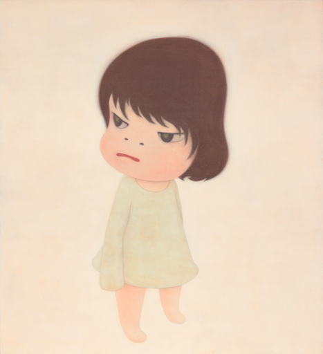 Yoshitomo Nara, Missing in Action, 2000. Image from Phillips.