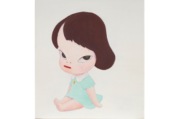 Yoshitomo Nara, Hot House Doll, in the White Room III, 1995. Image from Phillips.