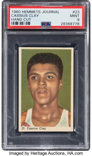 1960 Hemmets Journal Cassius Clay (Muhammad Ali) Rookie #23 PSA Mint 9