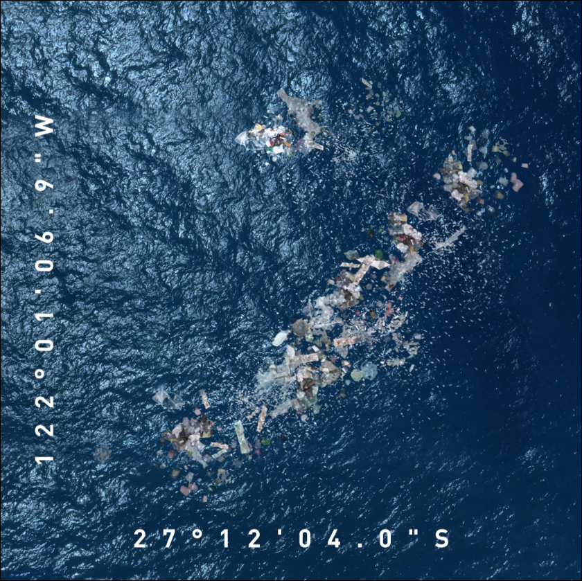 """Still from Own the Ocean 27°12'04.0""""S 122°01'06.9""""W. Image courtesy of Mission Moen."""