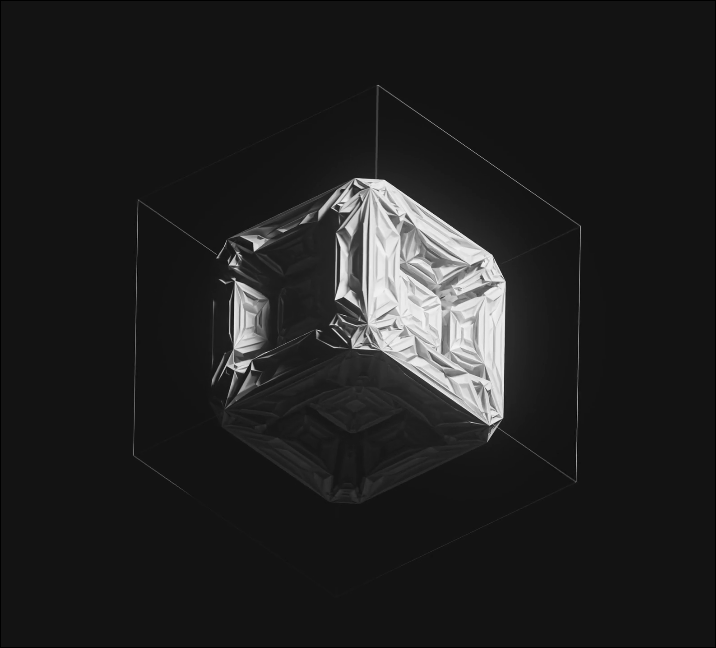 Still from The Cube by Pak. Image courtesy of the artist.