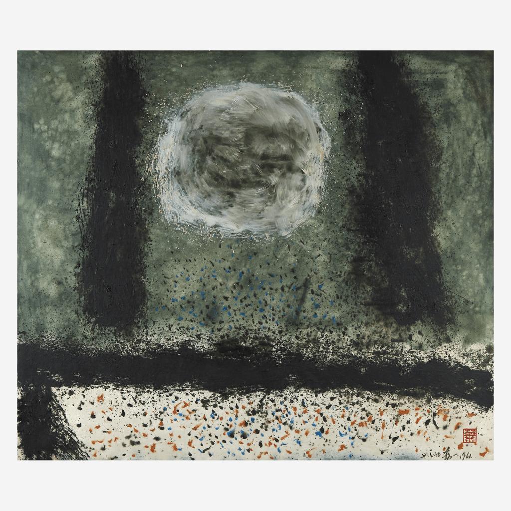 Hsiao Chin, Ricordo di Roberto Scuderi (In Memory of Roberto Scuderi), 1961. Image from Freeman's.