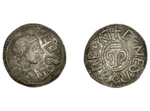 Kings of Mercia, Cynethryth (wife of Offa), Penny (1)