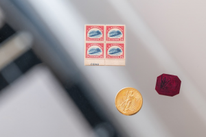 Sothebys Will Offer the British Guiana One-Cent Black on Magenta and Other Tiny Rarities1