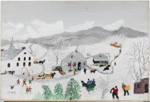 Privately owned for 40+ years, fresh-to-market Grandma Moses painting is centerpiece of Everard June 8-9 Spring Fine & Decorative Art Auction