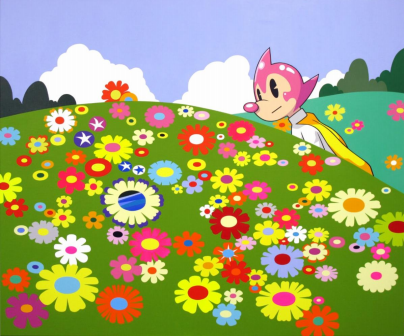 Flower Garden, 2020 Acrylic on canvas