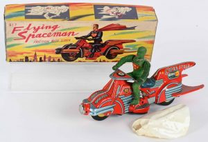 Toy collectors aimed high for vintage robots and early Disney toys at Milestones May 1 Spring Spectacular