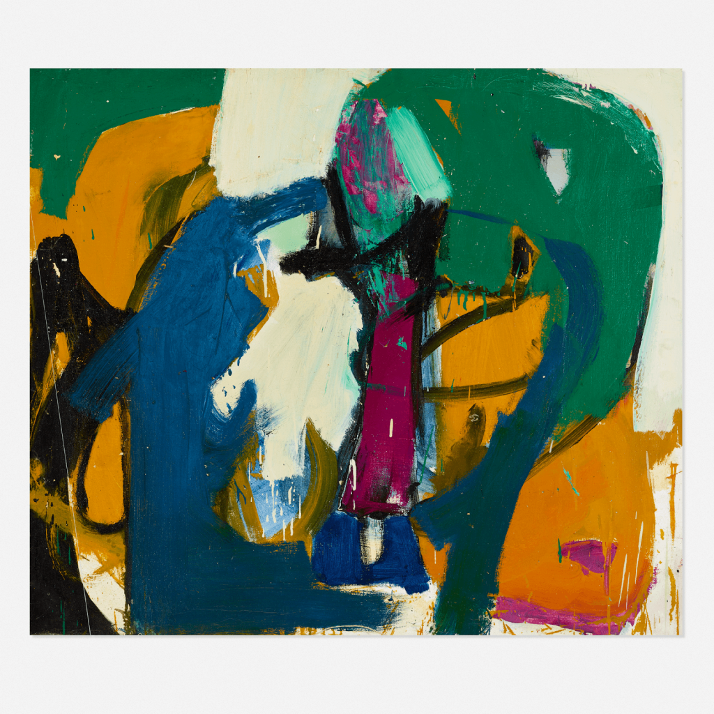 Choi Wook-kyung, Untitled, c. 1975, lot #128. Image from Rago/Wright.