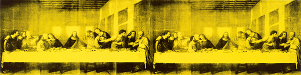 Andy Warhol, The Last Supper (1986). Image from the Baltimore Museum of Art.