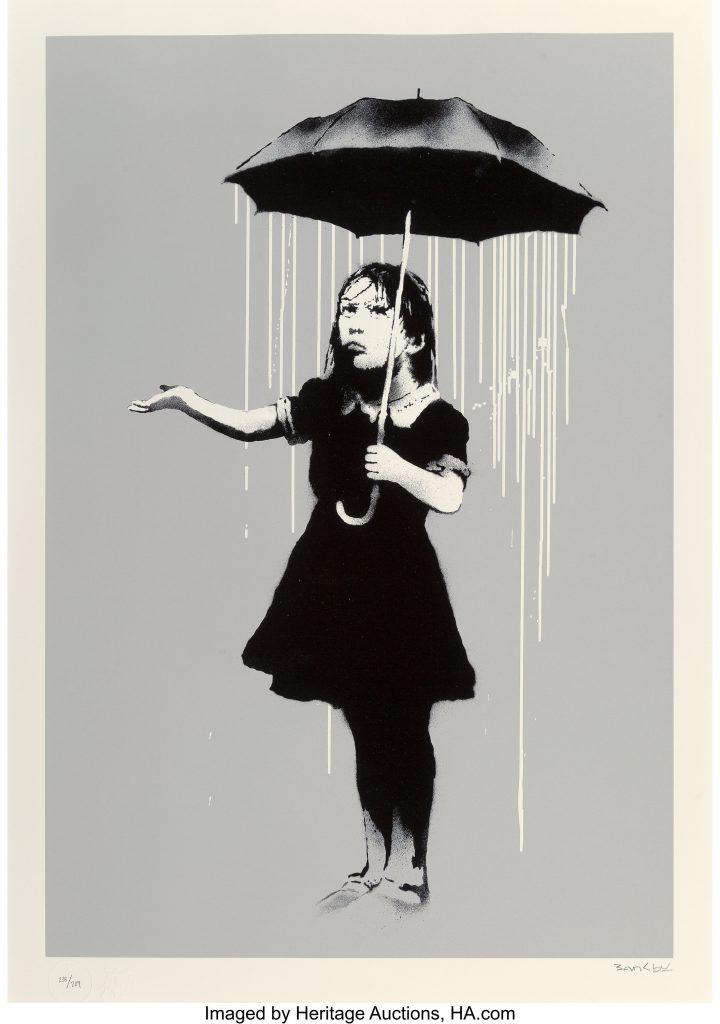 Banksy_NOLA_White_Rain_2008_Heritage_Auctions