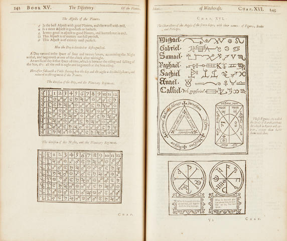 Third edition of The Discovery of Witchcraft by Reginald Scot. Image from Bonhams