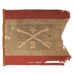 Personal headquarters flag of Philip Henry Sheridan