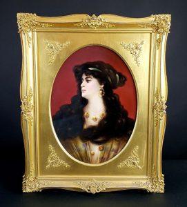 Louis XV Clock & KPM Porcelain Lead Prime Auction Gallery Sale