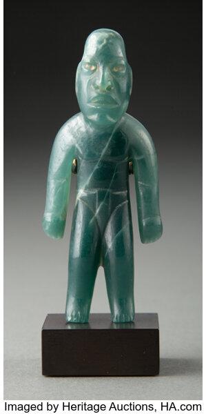 An Exquisite Olmec Standing Figure