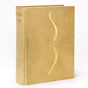 James Joyce, Ulysses, deluxe limited issue, signed, London, 1936. Estimate $15,000 to $20,000.