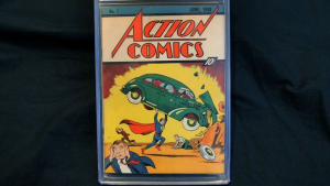 Action Comics #1. Image from AFP/Getty Images.