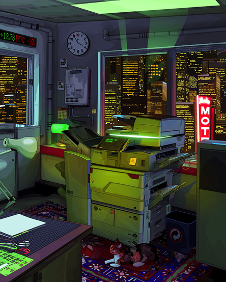 REPLICATOR by Micah Dowbak (also known as Mad Dog Jones). Image from Phillips.