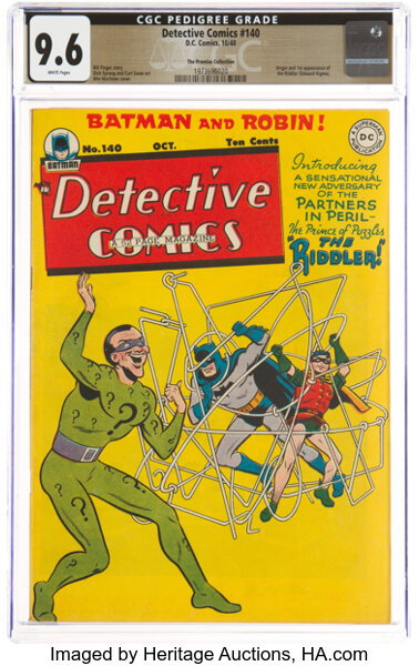 Detective Comics #140 The Promise Collection Pedigree
