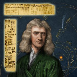 Sir Isaac Newton's handwritten notes and calculations regarding the longitudinal positions of stars and comets, ideas later formalized in his iconic work, Principia ($118,750).