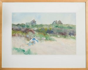 Gerard Blouin, Beach Reader