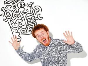 The Graffiti Spaghetti of Mr. Doodle1