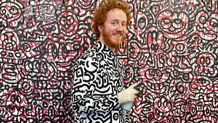 Mr. Doodle. Image from The Financial Times.