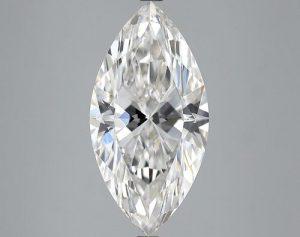 5.01 ct., F/VVS2, Marquise cut diamond, unmounted, IM-451-033-09