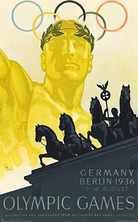 Franz Würbel, Olympic Games / Berlin, 1936. Estimate $2,000 to $3,000.