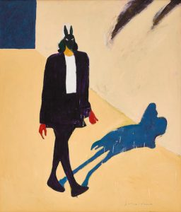 A FRITZ SCHOLDER PAINTING