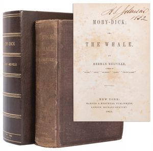 MELVILLE, Herman (1819–1891). Moby–Dick; or, The Whale. New...