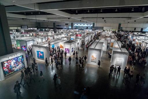 The LA Art Show in 2019. Image courtesy of the LA Art Show.