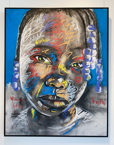 Micah Johnson, Attention, 2021. Image from Art Angels.