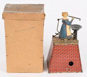 Fresh-to-market antique European toys