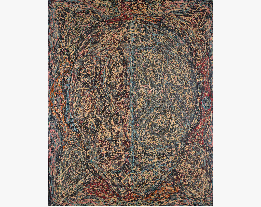 Alfonso Ossorio, The Skull, c. 1950. Image from Christie's.