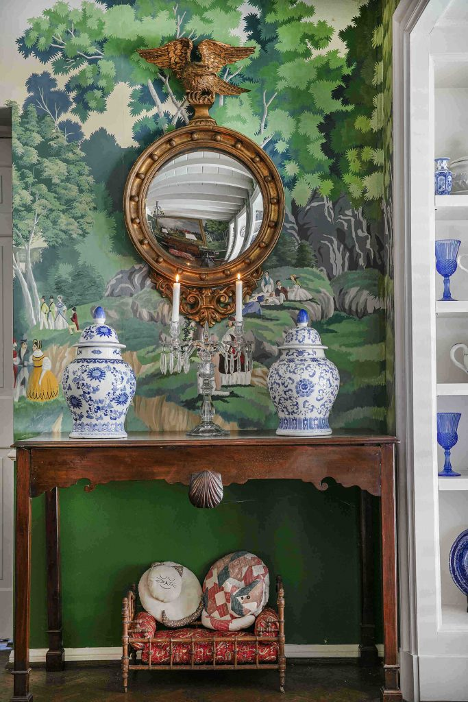 The collection of Los Angeles tastemaker Keith McCoy of Keith H McCoy & Associates evokes the English country house, to include wonderful furniture plus animalier and sporting paintings.