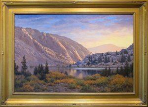 LINDA BROWN, Sierra Dawn, Oil on panel