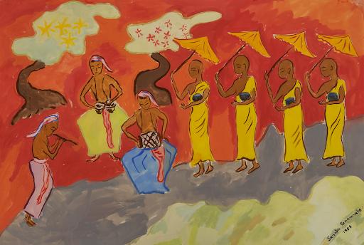 Senaka Senanayake, Untitled, 1958. Image from Doyle.