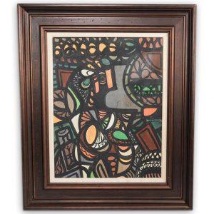 Amelia Pelaez (Cuban, 1896-1968) Oil Painting