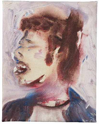 David Bowie, D-Head IX, 1995. Image from Christie's.