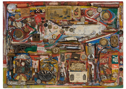 Wilbur Rouson, Memory Assemblage, 1999. Image from Toomey & Co.