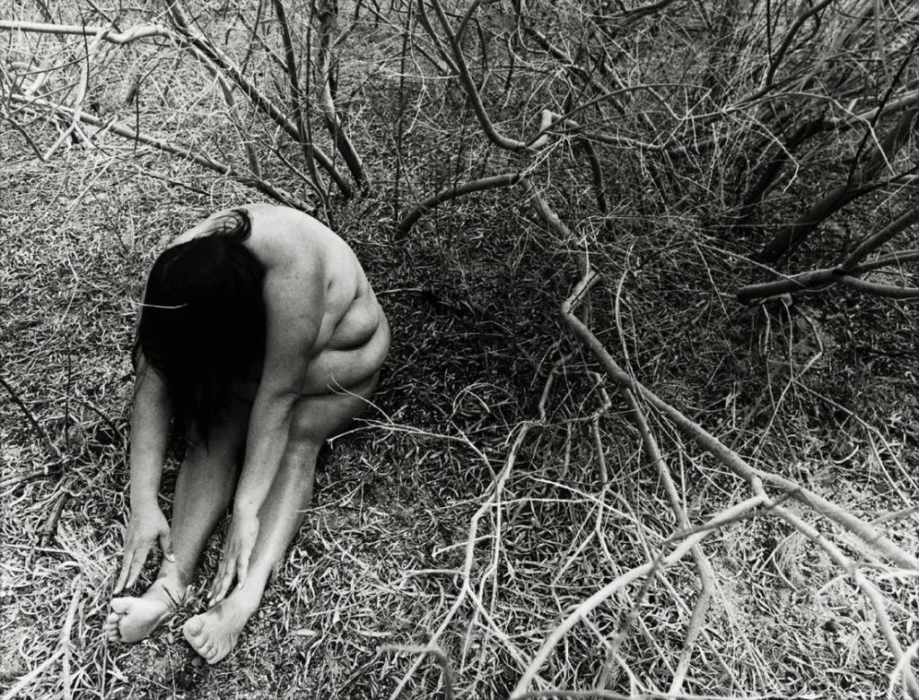 Laura Aguilar, Stillness #31, 1999. Image from Swann Auction Galleries.