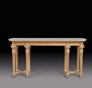 A Louis XVI Carved Giltwood Console Table by Georges Jacob, Circa 1780