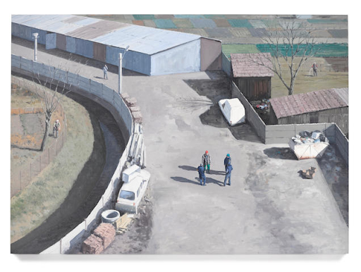 Șerban Savu, The Owner, His Right Hand and the Workers, 2012. Image from Bonhams.