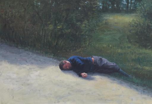 Șerban Savu, Enlightenment, 2010. Image from John Moran Auctioneers.