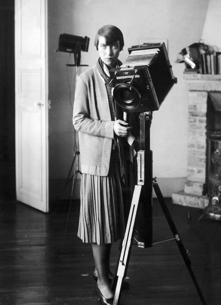 Berenice Abbott in 1928. Image courtesy of Keystone-France/Gamma-Keystone.
