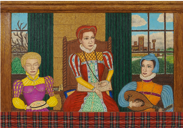Stephen Warde Anderson, Mary Queen of Scots & Company, 1994. Image from Toomey & Co.